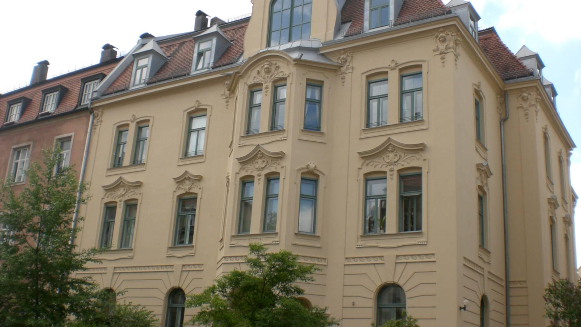 Gebäude der Kanzlei Dr. Moritz
